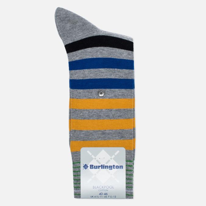 Мужские носки Burlington Blackpool Light Grey