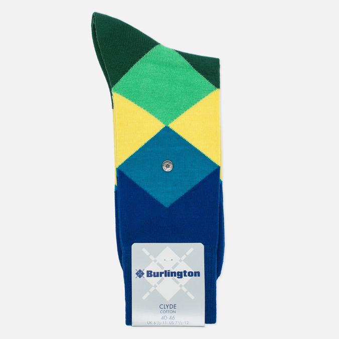 Burlington Clyde Men's socks Deep Blue
