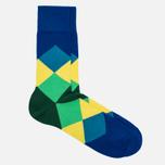 Burlington Clyde Men's socks Deep Blue photo- 1