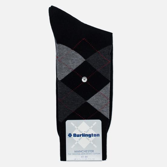 Носки Burlington Manchester Black