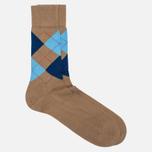 Burlington Manchester Men's socks Rosewood photo- 1