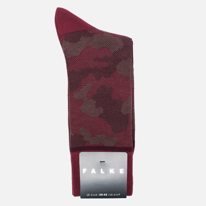 Мужские носки Falke Camouflage Garnet