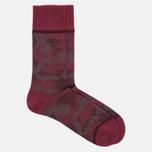 Мужские носки Falke Camouflage Garnet фото- 1
