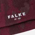 Мужские носки Falke Camouflage Garnet фото- 2