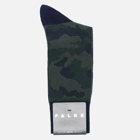 Falke Men's socks Camouflage Tanzanite