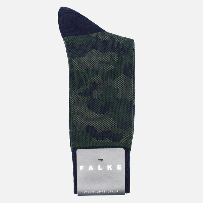 Мужские носки Falke Camouflage Tanzanite