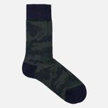 Мужские носки Falke Camouflage Tanzanite фото- 1