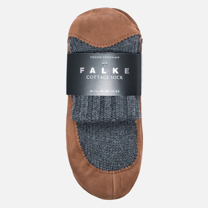 Falke Cottage Men's socks Dark Grey