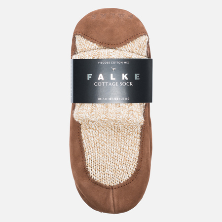 Falke Cottage Men's socks Nutmeg Mel
