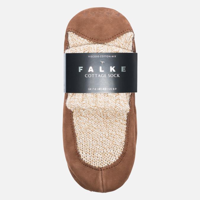 Falke Cottage Men's socks Nutmeg Mel