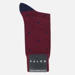 Мужские носки Falke Dot Short Garnet фото- 0