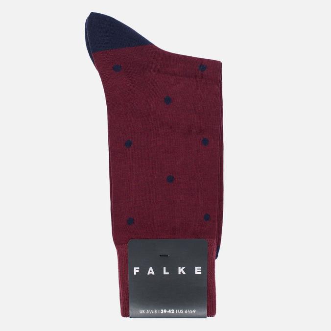 Мужские носки Falke Dot Short Garnet