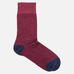 Мужские носки Falke Dot Short Garnet фото- 1