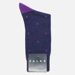 Мужские носки Falke Dot Short Tanzanite фото- 0