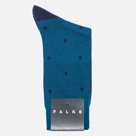 Falke Dot Short Men's socks Teal