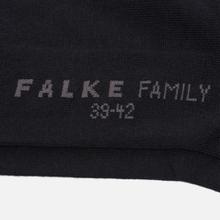 Носки Falke Family Sneaker Black фото- 2