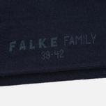 Мужские носки Falke Family Sneaker Dark Navy фото- 2