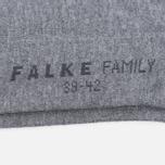Мужские носки Falke Family Sneaker Grey фото- 2