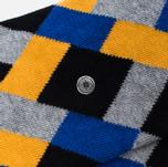 Мужские носки Burlington Geometric Anthra Mel фото- 2