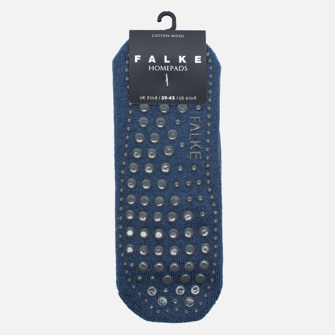 Мужские носки Falke Homepad Non-Slip Dark Blue