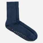 Falke Homepad Non-Slip Men's socks Dark Blue  photo- 1