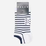 Falke Nautical Stripe Socks White/Navy photo- 0