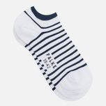 Мужские носки Falke Nautical Stripe White/Navy фото- 1