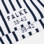 Мужские носки Falke Nautical Stripe White/Navy фото- 2