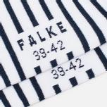 Falke Nautical Stripe Socks White/Navy photo- 2