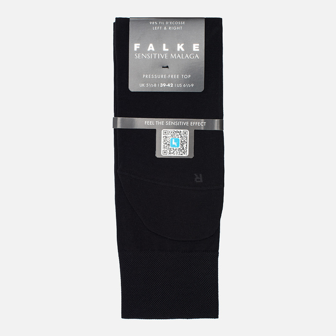 Мужские носки Falke Sensitive Malaga Black