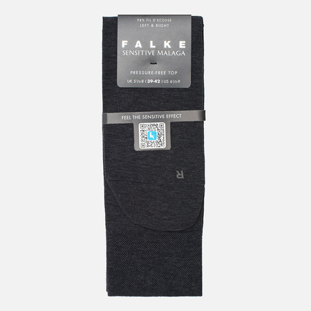 Falke Sensitive Malaga Men's Socks Anthracite