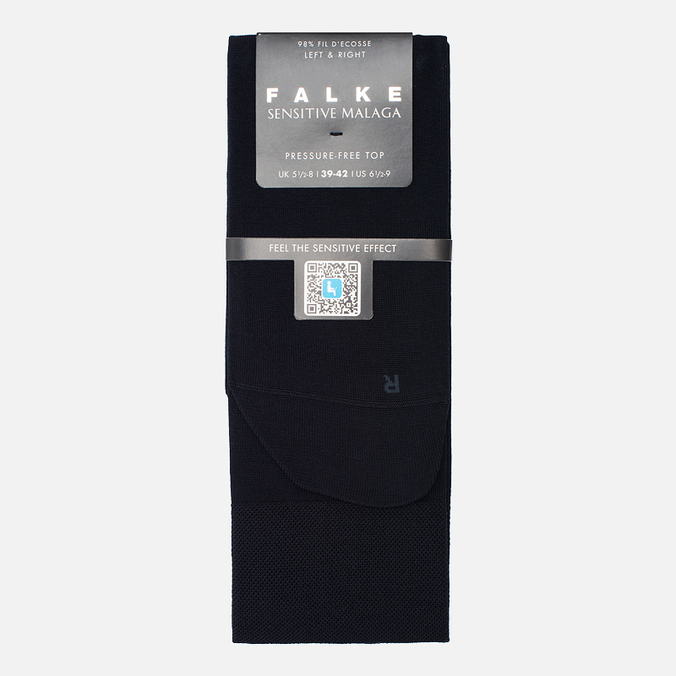 Мужские носки Falke Sensitive Malaga Dark Navy