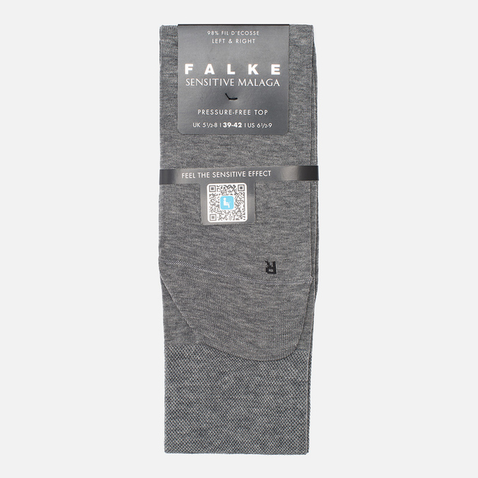 Мужские носки Falke Sensitive Malaga Gray