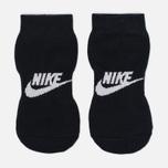 Носки Nike 2PPK Futura No Show Black/White фото- 1