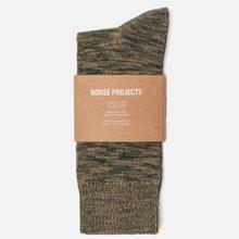Носки Norse Projects Bjarki Blend Cotton Quartz Green фото- 1