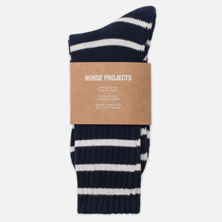 Мужские носки Norse Projects Bjarki Normandy Navy