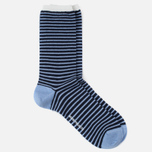 Мужские носки Norse Projects Bjarki Wool Stripe Carrier Blue фото- 1