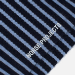 Мужские носки Norse Projects Bjarki Wool Stripe Carrier Blue фото- 2
