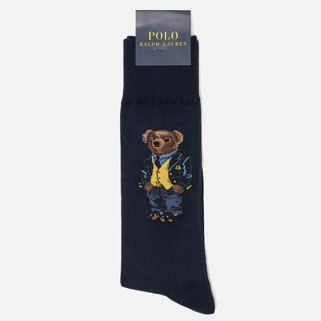 Мужские носки Polo Ralph Lauren Single Bear Navy
