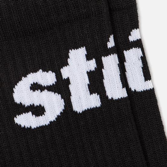 Носки Stussy Jacquard Logo Black