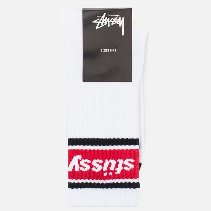 Мужские носки Stussy SS Stripe White