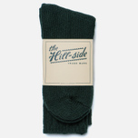 Мужские носки The Hill-Side Merino Wool Ragg Forest Green фото- 0