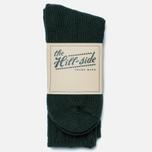 Мужские носки The Hill-Side Merino Wool Ragg Forest Green фото- 0