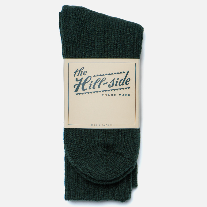 Мужские носки The Hill-Side Merino Wool Ragg Forest Green