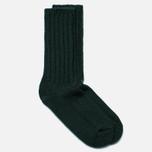 Мужские носки The Hill-Side Merino Wool Ragg Forest Green фото- 1
