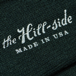 Мужские носки The Hill-Side Merino Wool Ragg Forest Green фото- 2