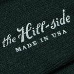 Мужские носки The Hill-Side Merino Wool Ragg Forest Green фото- 2