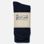 Мужские носки The Hill-Side Merino Wool Ragg Navy фото- 0