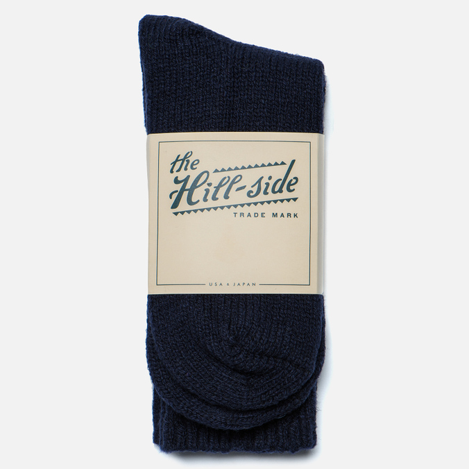 Мужские носки The Hill-Side Merino Wool Ragg Navy