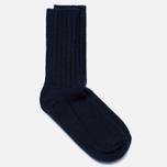 Мужские носки The Hill-Side Merino Wool Ragg Navy фото- 1